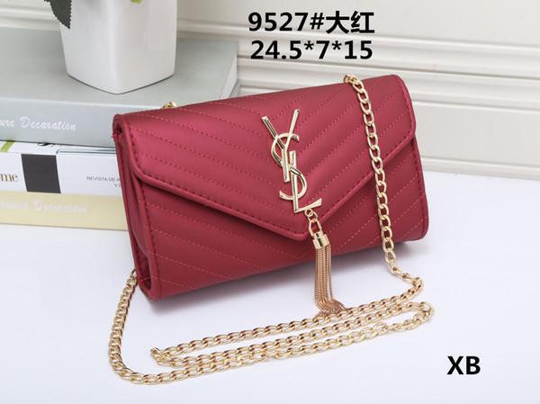 top popular Free Delivery 2019 New Women's High Quality Small Square Bag Fashion Single Shoulder Bag Retro Broad Shoulder Strap Slant Bag #9527 2019