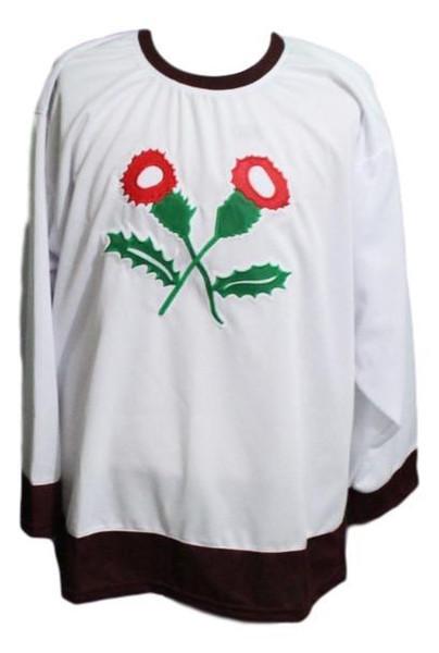 Costura personalizada Kenora Thistles Retro Hockey Jersey Nueva puntada personalizada cualquier número cualquier nombre Mens Hockey Jersey XS-5XL
