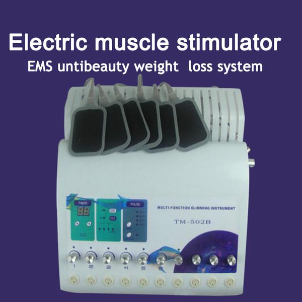 Weight Loss Machine Ems Tone Muscle Stimulator Electrostimulation Slimming Russian Waves Ems Electric Muscle Stimulator