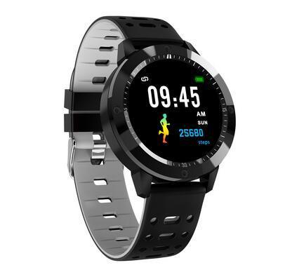 IP67 wasserdichtes gehärtetes Glas Aktivitätstracker sportliche Pulsuhr Damen Herrenuhr Smart Watch