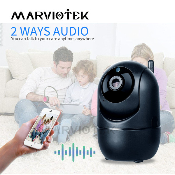 Portátil Câmera Baby Monitor WiFi IP 1080P HD Smart Wireless bebê Camera Áudio Video Record Vigilância Home Security