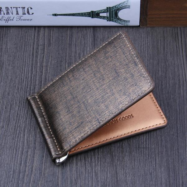 Großhandel Herren Bifold Business Leder Geldbörse Id Kreditkarte Visitenkarten Wallet Magic Money Clips 2019 Heiß Von Shang88 2 32 Auf De Dhgate Com