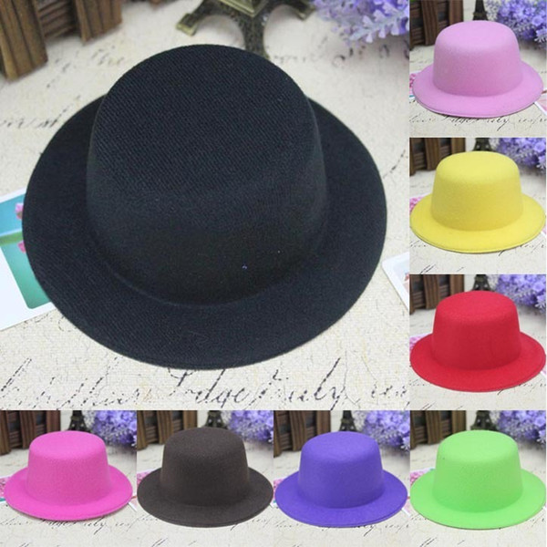 best selling DIY small hat hair accessories mesh hat hair accessories 13cm bare hat base