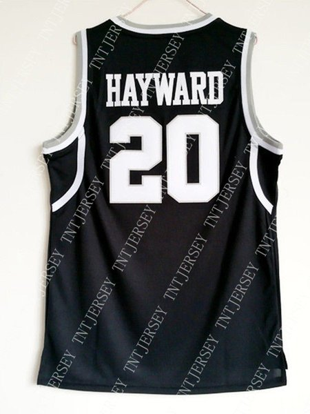 more photos 9ea1e df87b 2019 Cheap Wholesale Gordon Hayward 20 Butler College Sewn Basketball Black  Jersey Customize Any Name Number MEN WOMEN YOUTH Basketball Jersey From ...
