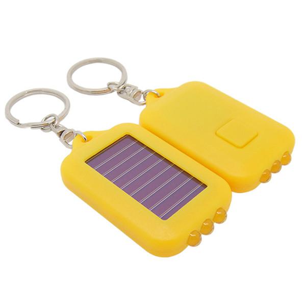 3 LED Ricaricabile Luce di emergenza Energia solare Lampadina Portachiavi Portachiavi portatile da campeggio Escursionismo Tenda da arrampicata Mini