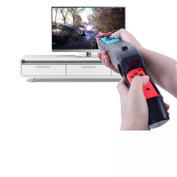 For Nintendos Switch Nintend Controller Game Peripherals Handgrip Sense Armas Arma Handle Joypad Stand Holder Game Guns W/ Grips