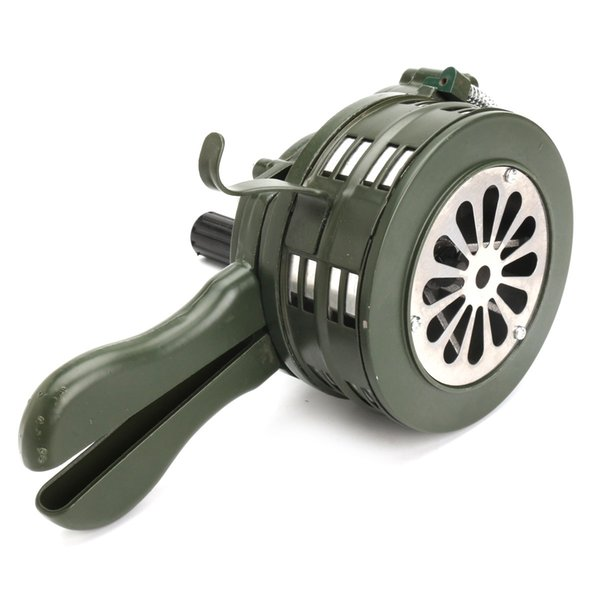 NEW Aluminium alloy Crank Hand Operated Air Raid Emergency Safety Alarm Siren Home Self Protection Security Alarm Siren