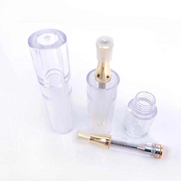 Tubi di plastica a prova di bambino con tubo a prova di imballo per tubetti contenitore di plastica con prood per penna Vape cartucce AC1003 Carrelli esotici