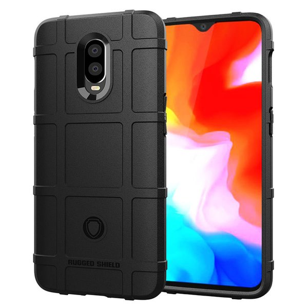 For OnePlus 6 6T 1+6 1+6T One Plus Case Soft Silicone Rubber Cover Rugged Armor Air Cushion Non-Slip Shockproof