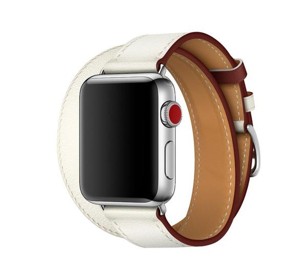 Hochwertige Echtlederbänder für Apple Watch Band Sport 38mm 42 Series 1 Series 2