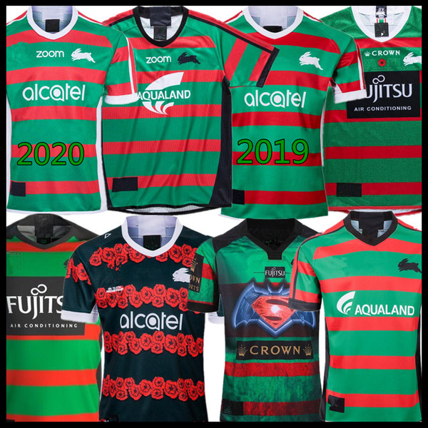 2019 2020 South Sydney Rabbitohs Home Anzac Rugby Jerseys 18 19 20 Nrl National Rugby League Shirt Jersey Australia Rugby Shirts Black Buy At The Price Of 18 11 In Dhgate Com Imall Com