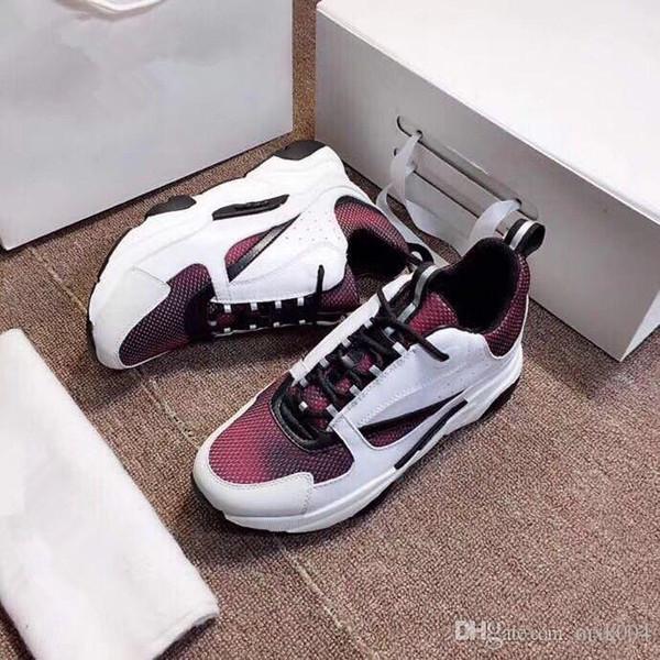 2019 новый горячий высокое качество B22 мужская спортивная обувь повседневная обувь мода женская французская дизайнерская марка повседневной обуви 35-45 kr02