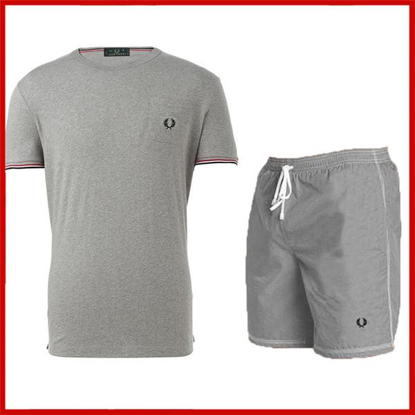 T-shirt a maniche corte in cotone a maniche corte da uomo casual classico in cotone a manica corta da uomo 2019, tendenza casual per uomo