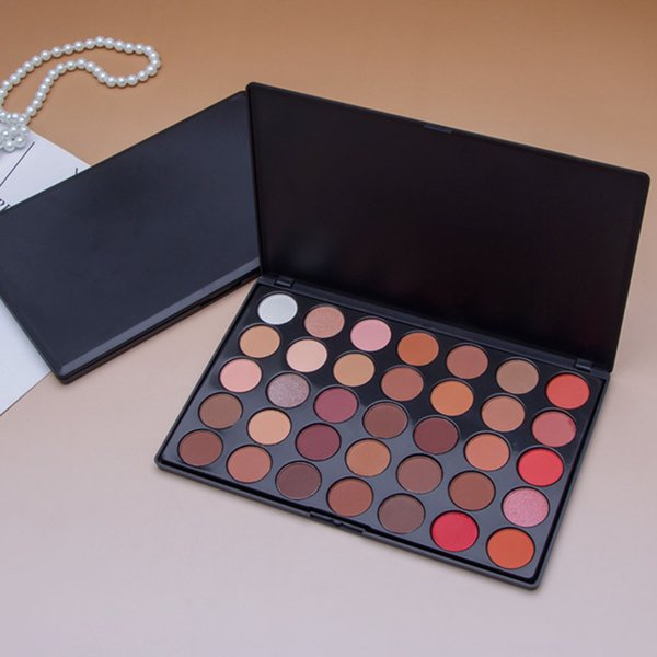 Wedding Soft Party Daily Matte Pearlescent 35 Colour Professional Makeup Eye Shadow Natural Cosmetics Glitter Shining Palette