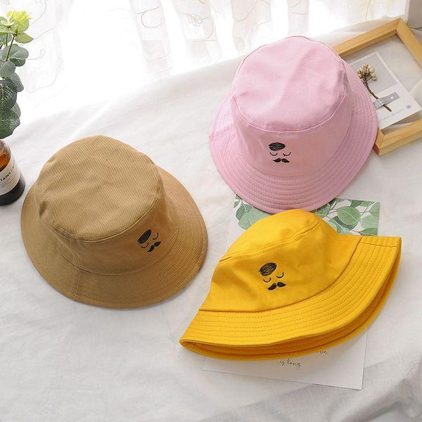 1 Pc Casual Cotton Women Fisherman Hat Female Han Version of The Tide Sun Visor Hat Beautiful Spring Summer Leisure Beard