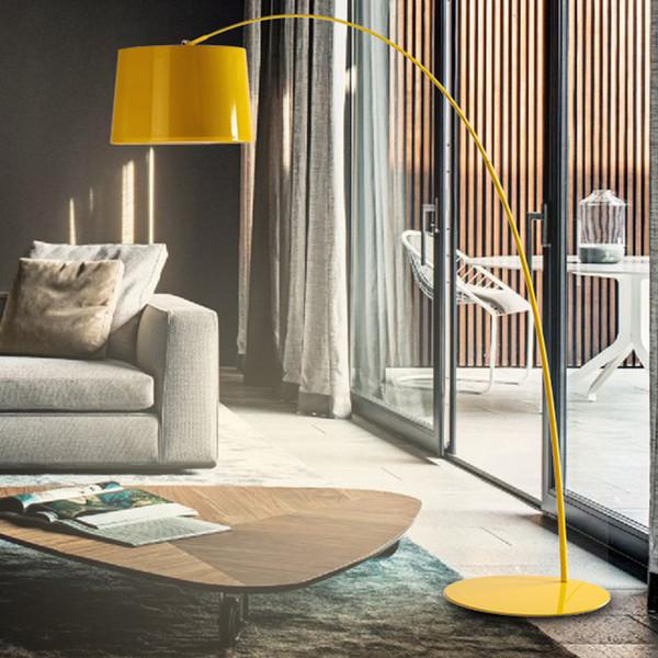 Postmodern ihale fide zemin lambası atmosfer oturma odası balıkçılık lamba Nordic göz koruma basit restoran çalışma lambası