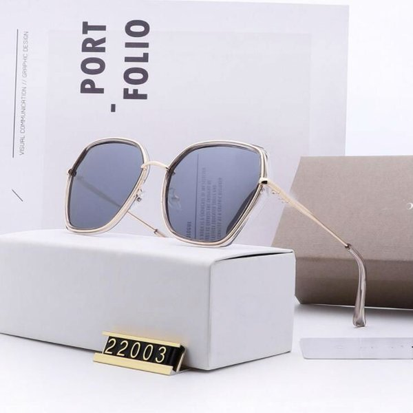brand Polarizing sunglasses for women luxury designer women glasses polaroid lenses true color coating fashion trend 5 color options