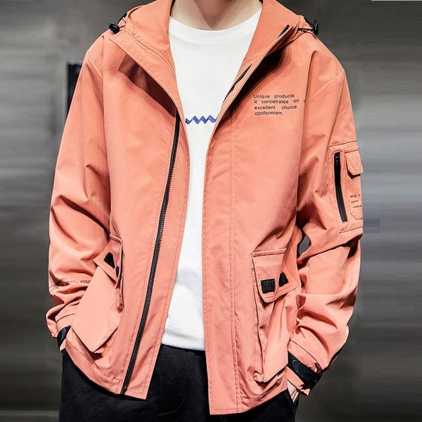 Spring Men's Bomber Jacket Spring Baseball Jacket Coats Male Casual Streetwear Hip-Hop Jackets Slim Fit Pilot Coat Men Clothing