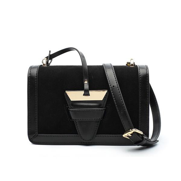 2019 brand shoulder bag female lion head lock handbag female PU leather slanting crossbody bag fashion party opponent take bag