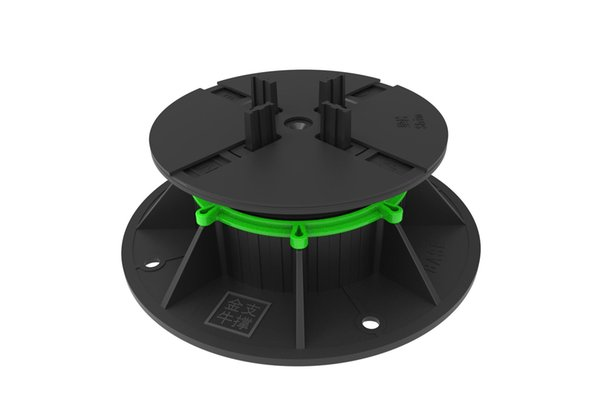 best selling paving plastic pedestal used in the balcony terrace and roof garden.
