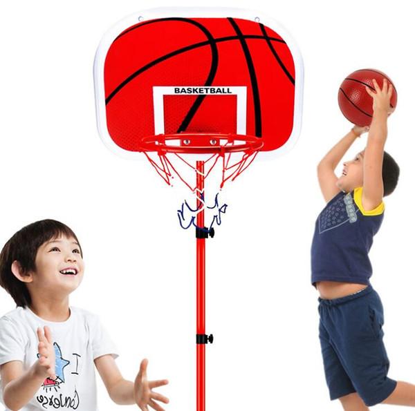 Çocuk basketbol çember açık kapalı spor hardcore basketbol kutusu çocuk basketbol kaldırabilir standı oyuncak fabrika doğrudan