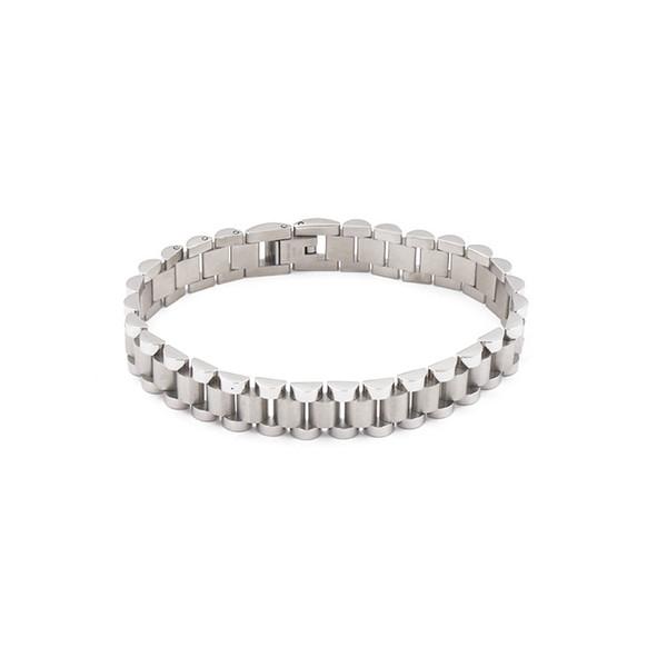 2019 модные титановые стальные зубчатые цепочки браслет пряжки цепного типа браслет сплит четыре цвета пара браслет любовь опекун браслет