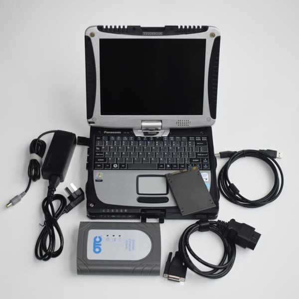 2019 for Toyota OTC Newest 13.10.019 IT3 update it2 Global Techstream GTS OTC VIM OBD Scanner with laptop cf30 ready use