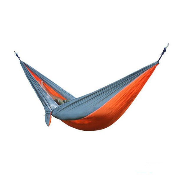 Outdoor Hammock Garden Camping Sports Home Travel garden Hang Bed Double Person Leisure travel Parachute Hammocks CH001
