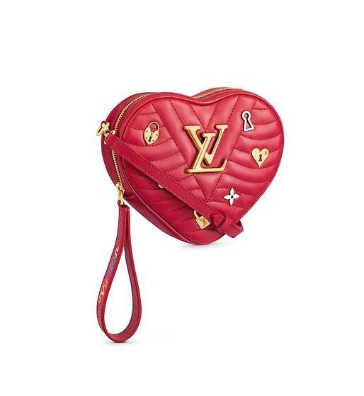 M52794 Heart Bag New Wave WOMEN HANDBAGS ICONIC BAGS TOP HANDLES SHOULDER BAGS TOTES CROSS BODY BAG CLUTCHES EVENING