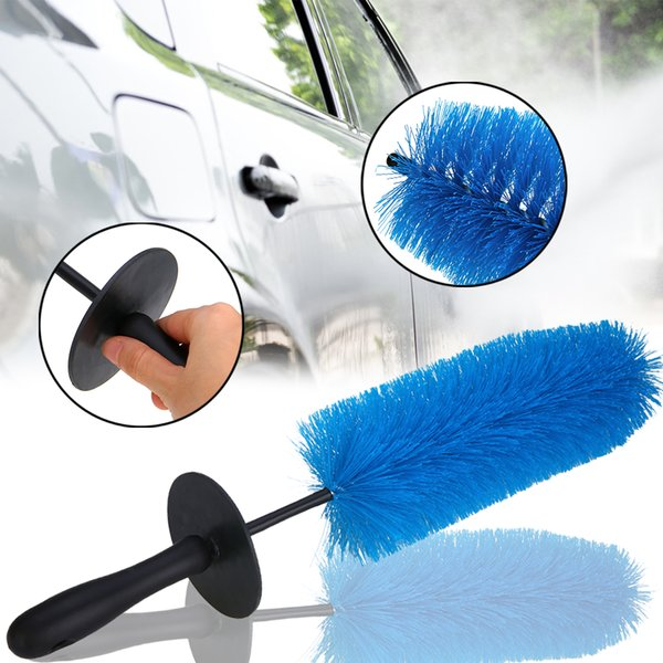 Color : Blue Brushes & Dusters Car Wash Brush  Soft Brush Tire Brush Cleaning Brush Water Brush Cleaning Supplies
