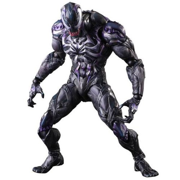 Venom Cosplay tema de disfraces Divertido tema de Halloween y Navidad Diseñador de vestuario Marvel Movie Stars Cosplay de tela