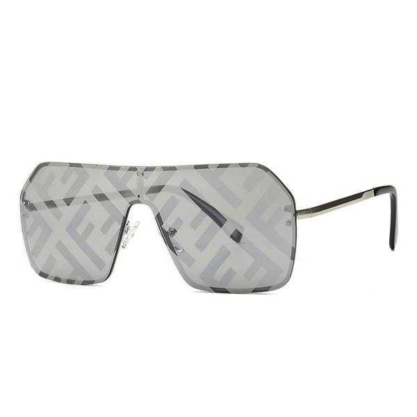 Retro Flat Top Quadrado Quadro Impresso Óculos De Sol Rua Pat Sunglasses Novo Metal Frame Óculos De Sol Para Homem E Mulheres
