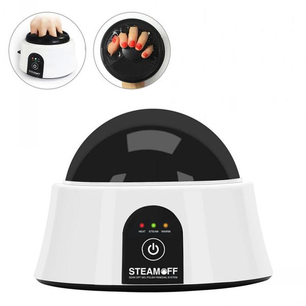 Máquina profesional del removedor del esmalte de uñas del vapor eléctrico Máquina del limpiador del vaporizador de los clavos ULTRAVIOLETA rápidamente rápidamente para el uso en el hogar del salón