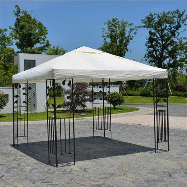 3x3M 300D Canvas Camping Hiking Sun Shelter Outdoor Tent Canopy Top Roof Cover Patio Sun Shade Cloth Shade Shelter Replace Part