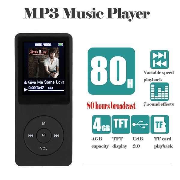 Hot IQQ X02 MP3 Music player 8GB time 80 Hours lossless MP3 player mp-3 hifi reproductor 8gb walkman hifi speaker