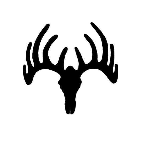 15*14.5cm Deer Buck Antlers Hunting Decal Sticker Car Truck Motorcycle Vinyl Car Wrap Decor Decals