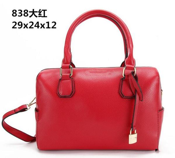 2019 fashion new lock bag ladies handbag fashion casual shopping bag wholesale pillow bag lychee oblique 838#MK