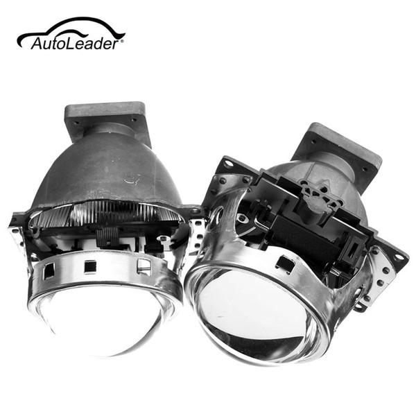 Freeshipping 2Pcs Nuevo para Hid Bi Xenon Projector Lens para Auto Headlight 3.0 Q5 35W Se puede usar con D1S D2S D2H D3S D4S