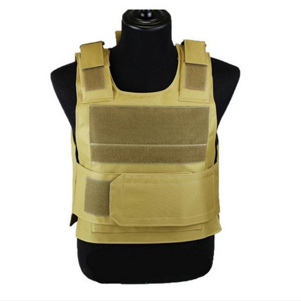 Men Women Security Guard Outdoor Stab-resistant Breathable Tactical Vest
