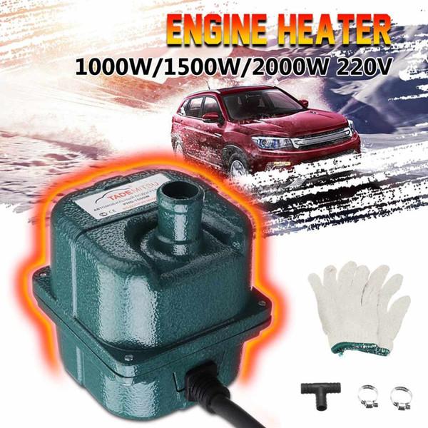 220 V 1500 W / 2000 W aquecedor do motor aquecedor de estacionamento elétrico a gás Diesel Air Parking Car Pré-aquecimento do Líquido de Arrefecimento Aquecimento