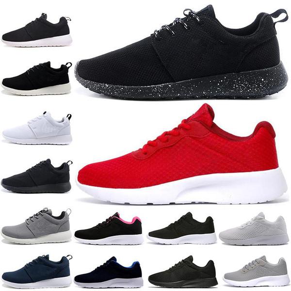 Venta caliente Tanjun Run Running Shoes hombres mujeres negro bajo ligero y transpirable London Olympic Sports Sneakers para hombre entrenadores tamaño 36-45