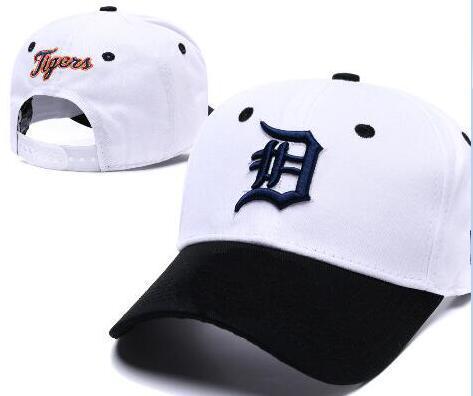 2019 sports Detroit chapeau baseball Casquette D Logo Broderie thounds styles sortie snapback snap back Réglable Snapback Sport Chapeau Drop Ship 001