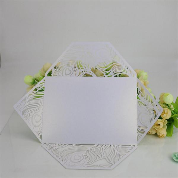 10 adet Yeni Stil Yanardöner Kağıtları Davetiye Kartları Festivali Gatering Dekoratif Malzemeleri Çok renkler Düğün Davetiyesi