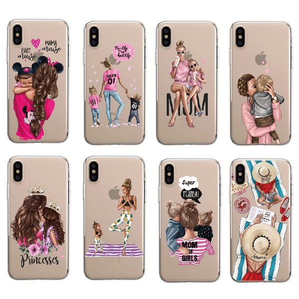 Fashion Queen Classy Paris Girl Summer Travel Bikini Beach Soft Clear Phone Case For iPhone 8 7 7Plus 6 6S XS Max XR 5 5S SE