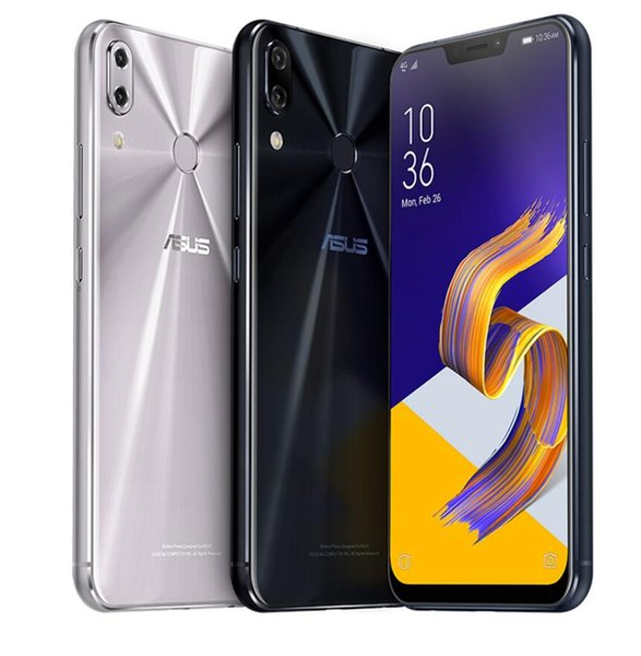 "ASUS ZenFone 5Z ZS620KL Global Version 6.2""19:9 FHD+Notch ScreenSnapdragon 845 6GB 64GB Android8.0 Telephone Face ID Fast Charge"