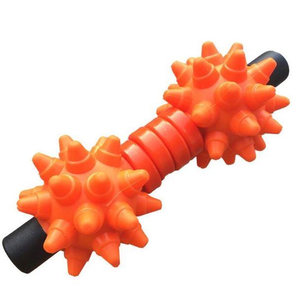Spiky Bola Yoga Massagem Vara Completa Corpo Músculo Rolo De Fitness Equipamentos Z65