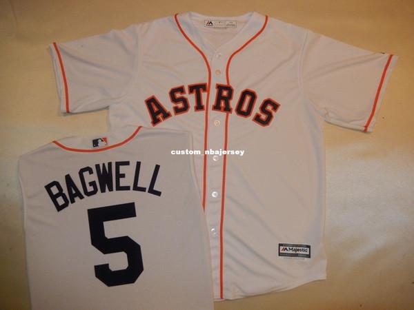 Cheap custom JEFF BAGWELL Baseball Jersey WHITE New Stitched Customize any name number MEN WOMEN BASEBALL JERSEY XS-5XL