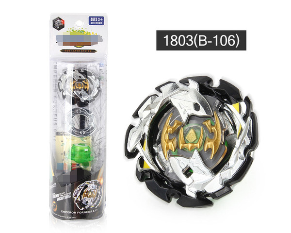 best selling 4D spinning top Beyblade Burst B-104 B-105 B-106 Metal Fusion Toupie Bayblade With Launcher Gift Toy for Kids Birthday