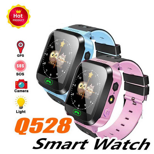 Q528 Waterproof Kids Smart Watch SOS Antil-lost Smartwatch Baby 2G SIM Card Clock Call Location Tracker Smartwatch PK Q50 Q90
