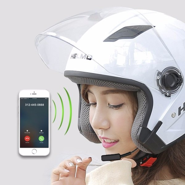 Motocicleta Bluetooth Headset Comunicação Sem Fio Motocicleta Bluetooth Helmet Headset Sistemas para Motor de Moto e Esqui